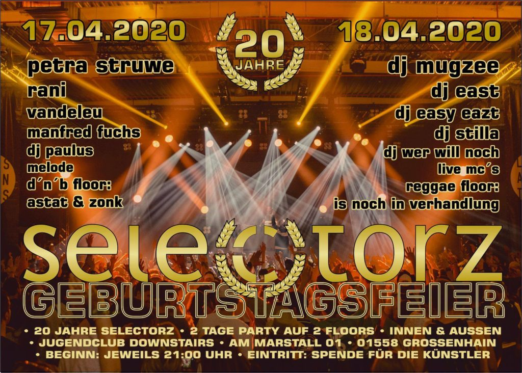 EasyEazt @ 20 JAHRE SELECTORZ @ Downstairs / GH